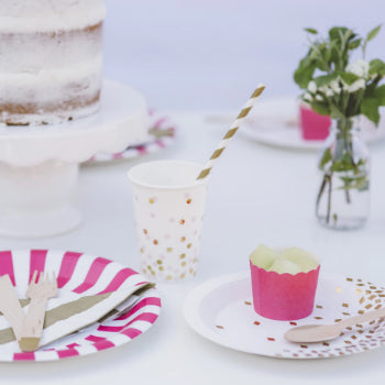 Pop Pink Baking Cups