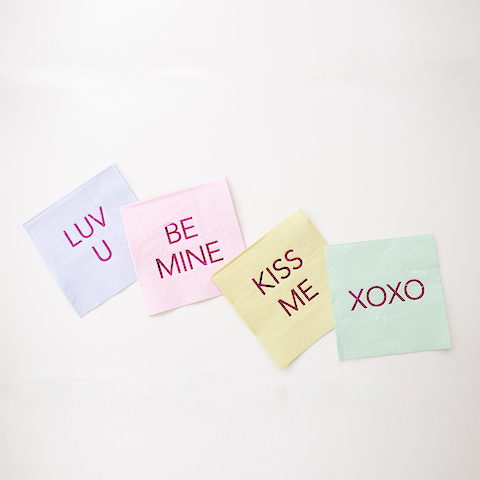XOXO Small Napkins