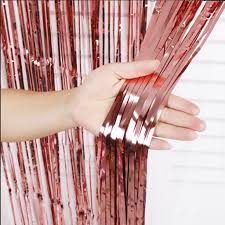 Metallic Foil Curtain Streamers