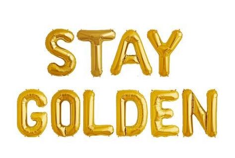 stay golden balloons, golden birthday, gold birthday party