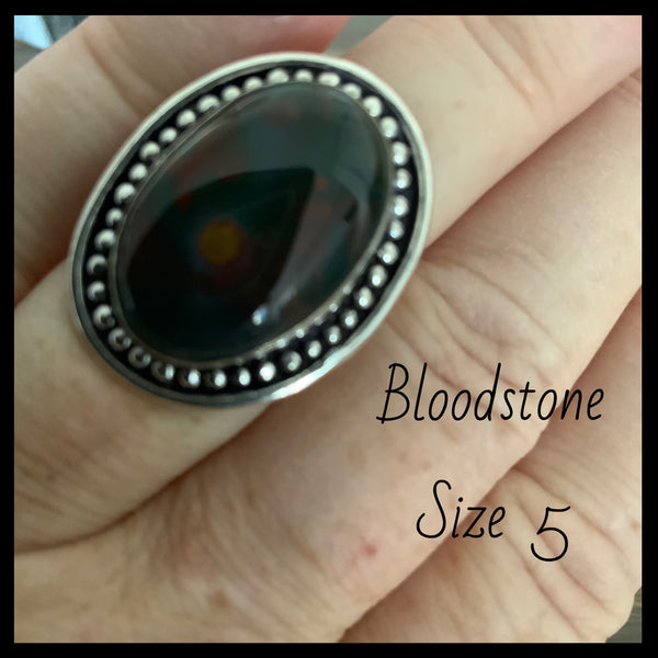 Bloodstone Ring 5