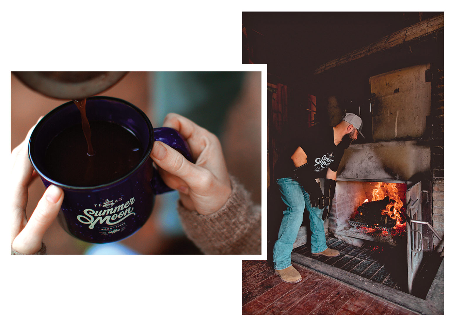 Cup of Wood Fired Coffee