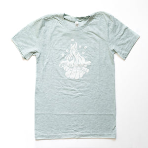 Summer Moon Tee (Mint)