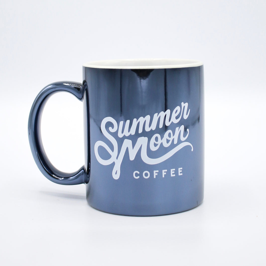 Metallic Blue Coffee Mug