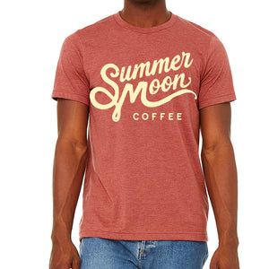 Summer Moon Clay Red Crewneck