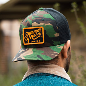 Summer Moon Trucker Hat - Camo