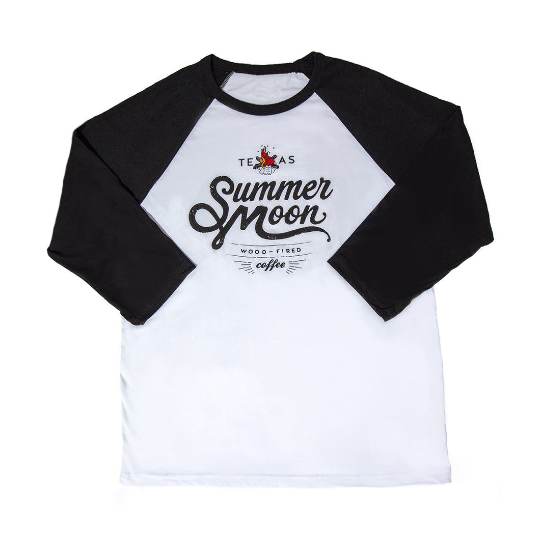 Summer Moon Baseball Tee