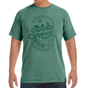 Soft Washed Green Tee
