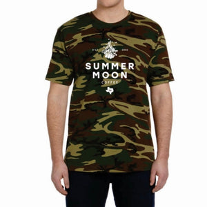 Summer Moon Crew Neck Tee (Camo)