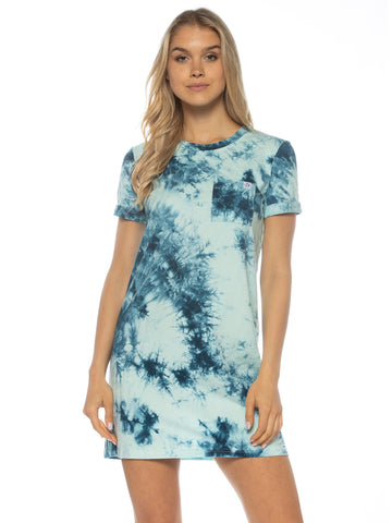 Robe T-Shirt Bleu