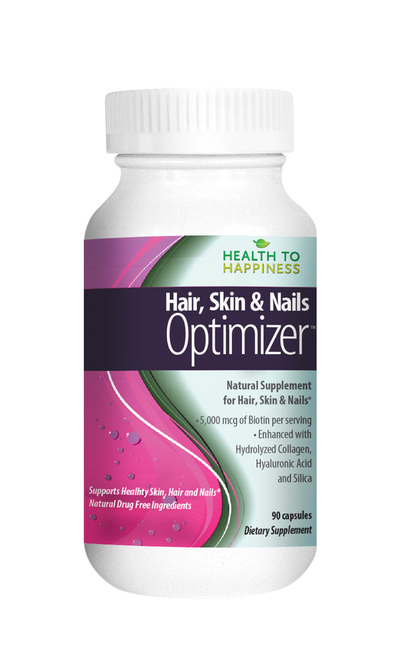 Hair, Skin & Nails Optimizer – Make Your Hair Grow & Skin Glow with Biotin, Collagen & More