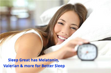 ✅Sleep Great is a Non-Habit Forming Natural Sleeping Aid. Special Blend with Melatonin