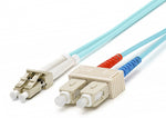 Blupeak Fibre Patch Cable Multimode LC to SC OM4 - BluPeak