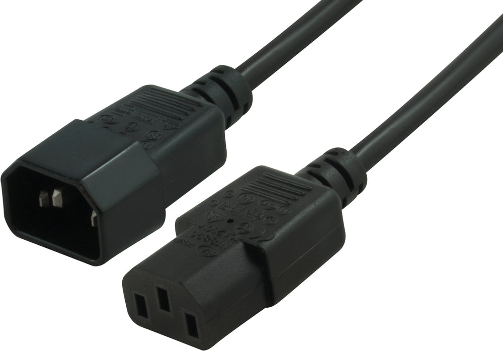 Blupeak Power Cable C13 Female to C14 Male