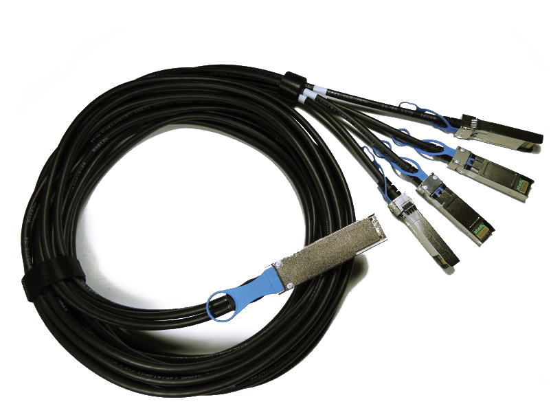 Blupeak 1m DAC QSFP+ 40G Passive Cable - (Third Party Compatible)