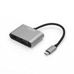 Blupeak USB-C to HDMI 4K@30Hz & VGA 1080P@60Hz Adapter - BluPeak