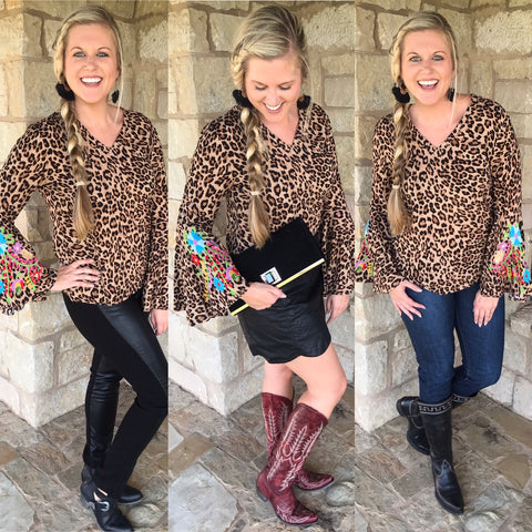 3 Ways to Wear Chloe Leopard Top