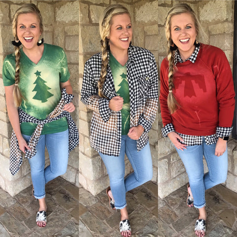 3 Ways to Wear It Tori Flannel