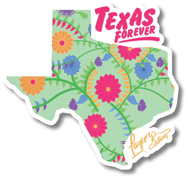 Texas Forever Sticker