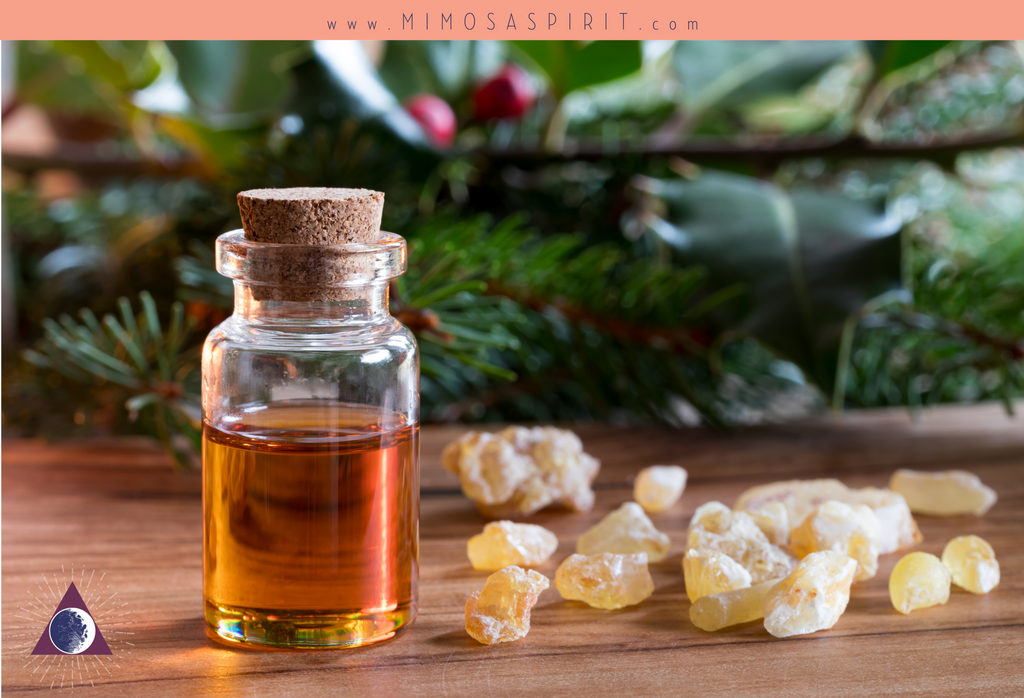 Winter Aromatherapy with Frankincense