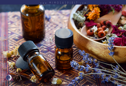 Homemade Sprays for Your Sacred Space