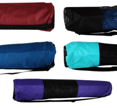 Nylon Yoga Mat Bag - Various Colors