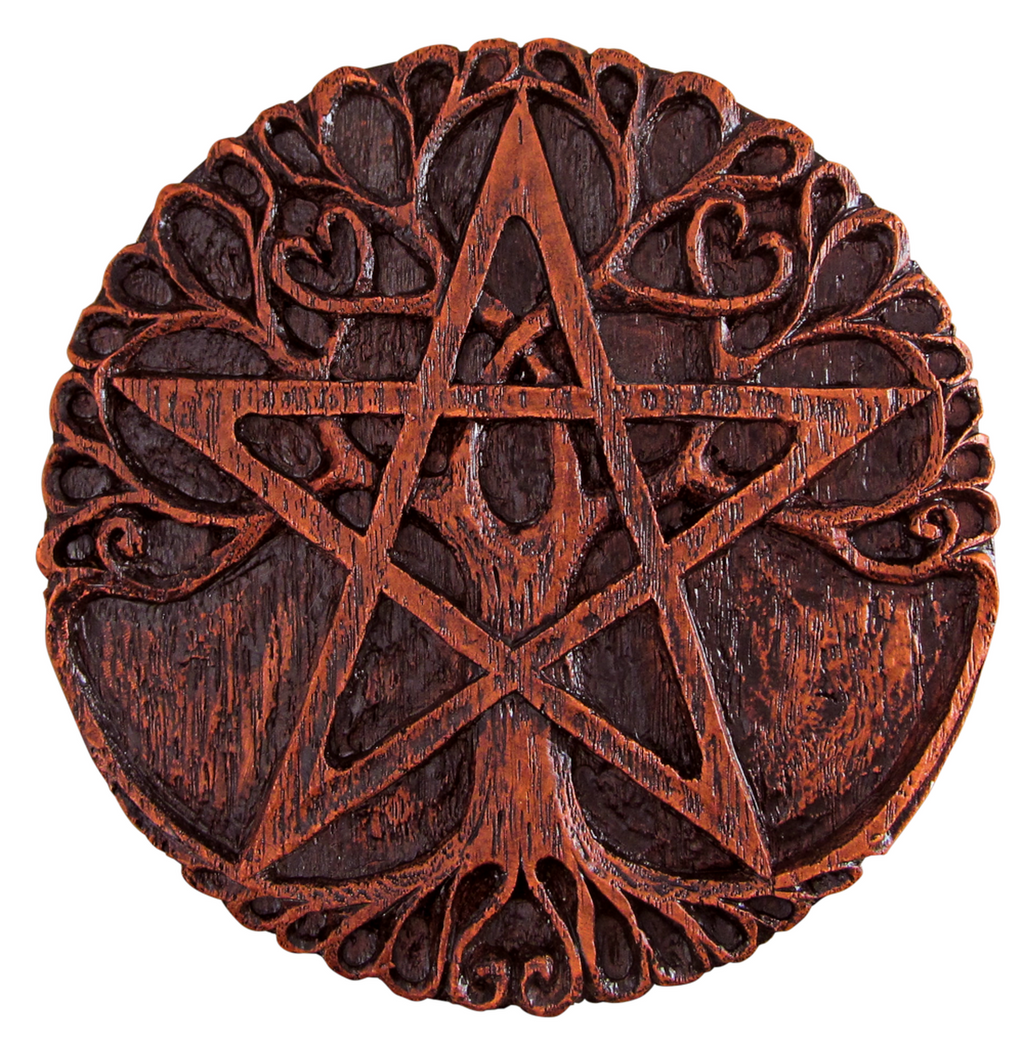 Tree Pentacle Wall Plaque - Various Sizes