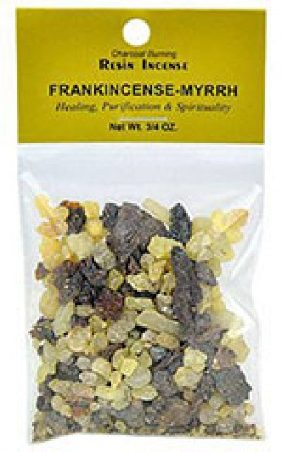 Resin Incense Granules for Use with Charcoal - Various Scents