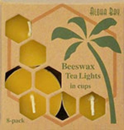 Beeswax Tealight Candles - 8 Pack