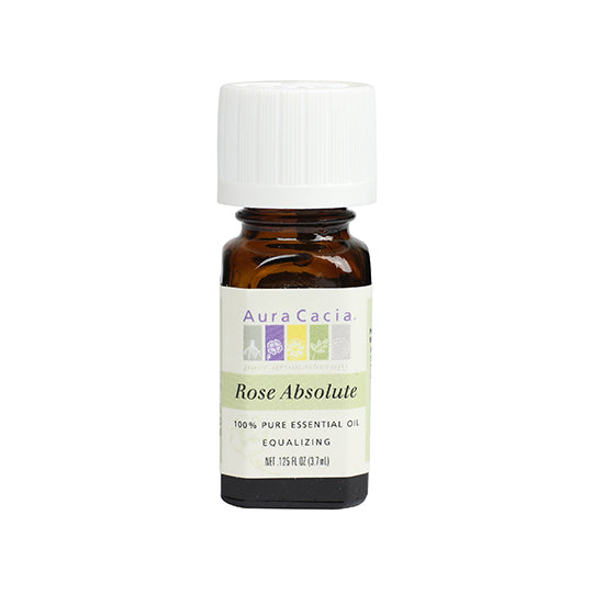 Aura Cacia Rose Absolute Oil .125 oz.