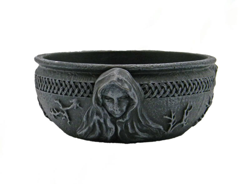 Maiden Mother Crone Scrying Bowl