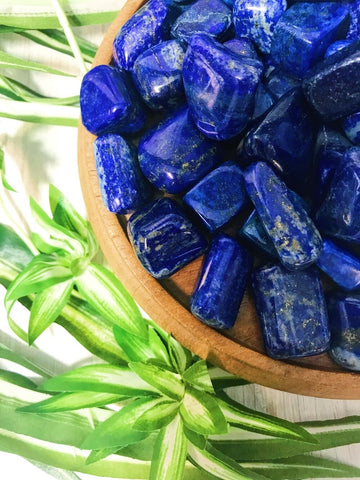 Tumbled Blue Kyanite for Truth & Justice
