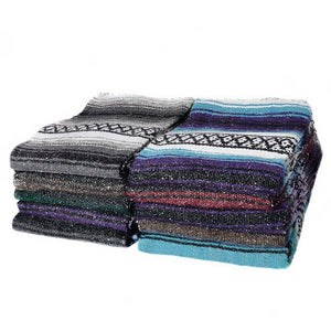 Woven Mexican Yoga Blanket - Various Styles