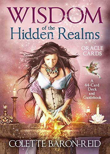 Wisdom of the Hidden Realms Oracle Cards by Colette Baron-Reid