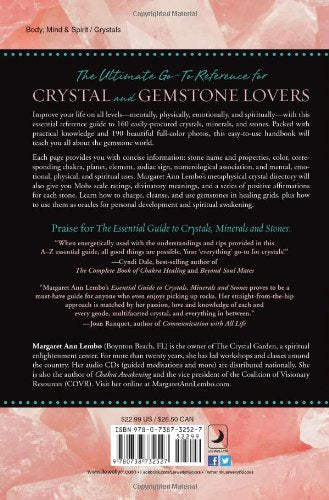 Essential Guide to Crystals, Minerals, and Stones by Margaret Ann Lembo