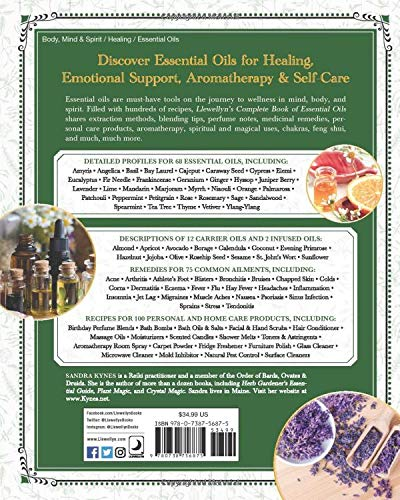 Llewellyn's Complete Book of Essential Oils by Sandra Kynes