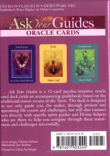 Ask Your Guides Oracle Cards by Sonia Choquette