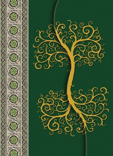 Celtic Tree Journal with Magnetic Cover Closure