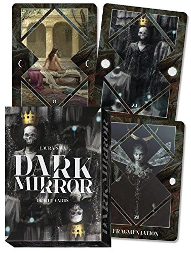 Dark Mirror Oracle Cards by Riccardo Minetti & Laura Sava