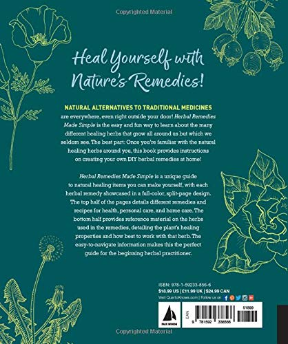 Herbal Remedies Made Simple by Stacey Dugliss-Wesselman & Susan Gregg