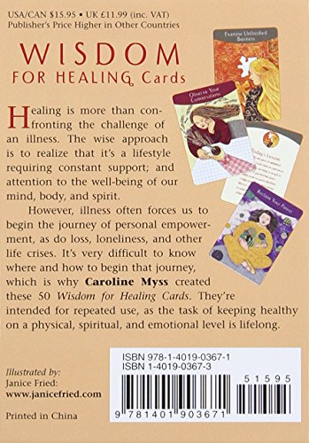 Wisdom for Healing Cards by Caroline Myss