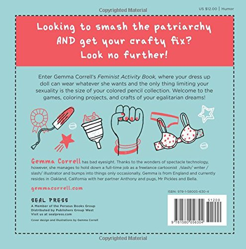 Feminist Activity Book by Gemma Correll