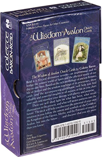 Wisdom of Avalon Oracle Cards & Guidebook by Colette Baron-Reid