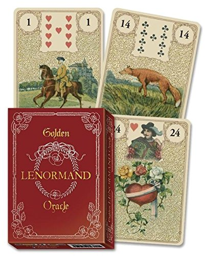 Golden Lenormand Oracle by Lo Scarabeo