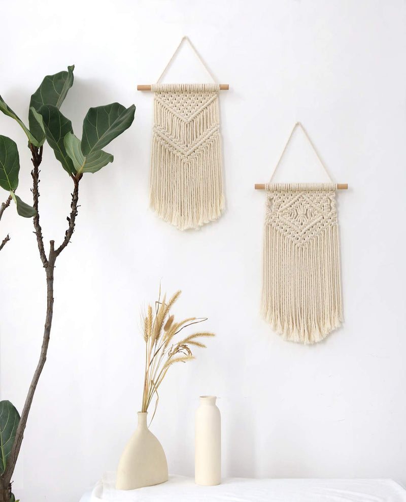 Small Boho Macrame Wall Hanging - Various Styles