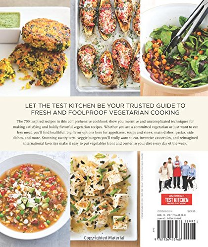 Complete Vegetarian Cookbook by America's Test Kitchen