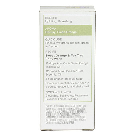 Aura Cacia Sweet Orange Oil .5 oz.