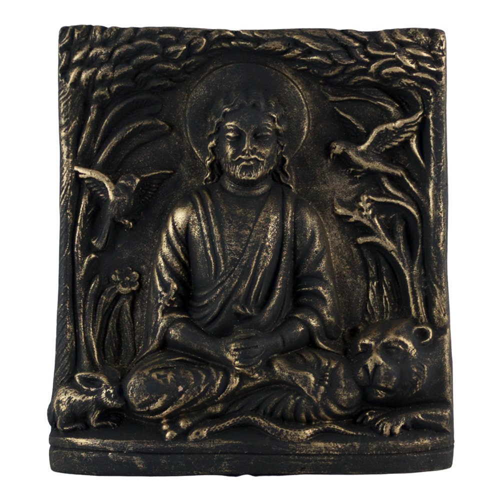 Yogic Christ Wall Plaque