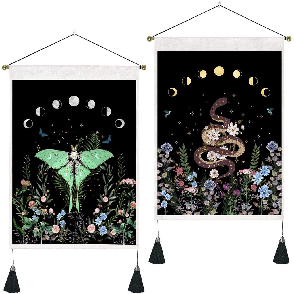 Nocturnal Nature Wall Hangings - Various Designs