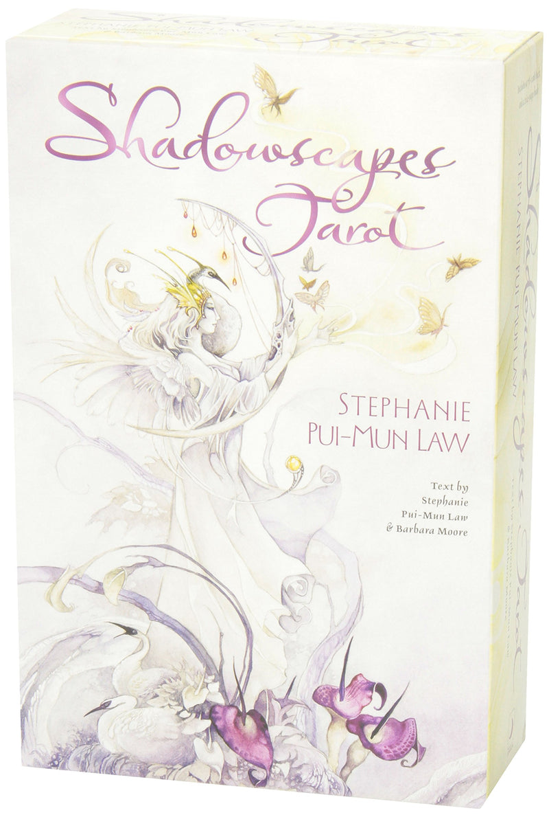 Shadowscapes Tarot Deck & Book Set by Stephanie Pui-Mun Law & Barbara Moore